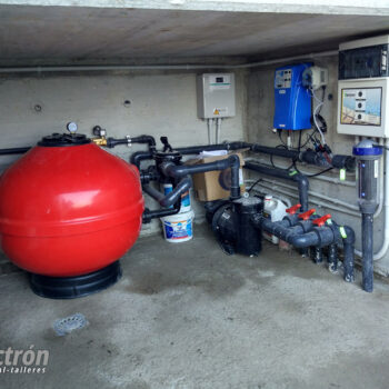 Sistema de filtración de piscinas